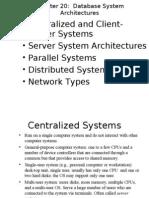 Database System Architecture