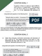 Contoh Soal Bernoulli-BIO 2011
