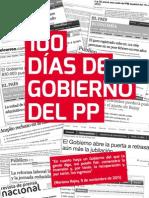 100 días del Gobierno del PP