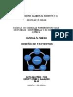Modulo Diseño de Proyectos UNAD
