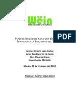 Plan de Negocio Wein
