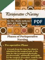 Perioperative Nursing Lecture(Cmo14)