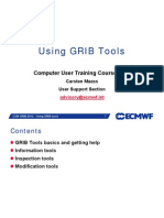 Grib Tools Manual