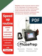 PhasePrep Solution Preparation System