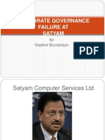 Corporate Governance Failure At