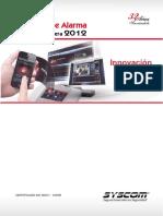 Catálogo de Alarmas 2012