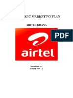 Marketing Plan-Airtel Ghana