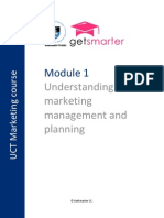 UCT MA - Module 1 Notes