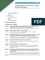 c Documentum xPlore FAQ
