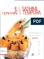 Cocina Japonesa - Sushi,Sashimi,Teriyaki,Tempura - Nuevas Recetas de La Cocina Tradicional Japonesa