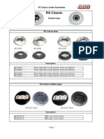 BBS Wheel Hardware Guide