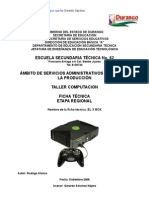 Análisis de Objeto Técnico el Xbox