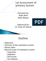 5- Respiratory Assessment