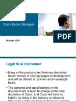 Cisco Fabric Manager 4.2.1 EBC Deck 10.09