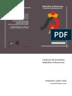 Autonomía y Poder Social - Armando Rendón Corona