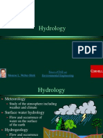 General View on Hydrology