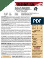 Altoona Curve at Harrisburg Senators Game Notes
