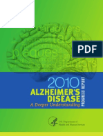 2010 Alzheimers Disease Progress Report