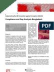 Bangla GAP Analysis GtZ Factsheet