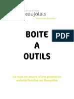 Boite à outils tourisme en Beaujolais