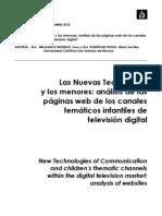 Las nuevas tecnologías y los menores- España