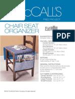 Chair Seat Organizer