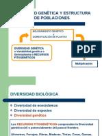 Divers Id Ad Genetica y Estructura Genetica de Poblaciones