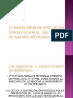 Antecedentes La Reforma en El Derecho de Amparo