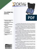 Catalogo MTD-20KWe E04051901