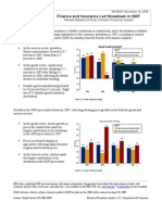 Revised Statistics of Gross Domestic Product by Industry 2007