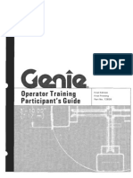 genie operator training guide answers