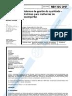 ISO 9004-2000 - Diretrizes Para Melhorias de Desempenho