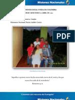 Informe Misionero a Abril 2012 - Villanueva Guajira