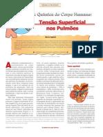 Tensão Superficial nos  pulmoes