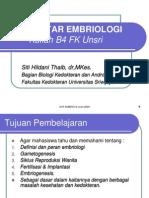 Pengantar Embriologi (SitiH)