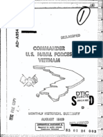 U.S. Naval Forces Vietnam Monthly Historical Summary Aug 1969