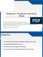 Employer- Employee Insurance Plans- Final Approved[1]