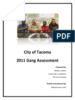 Tacoma Gang Assessment 2011