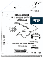 U.S. Naval Forces Vietnam Monthly Historical Summary Nov 1969