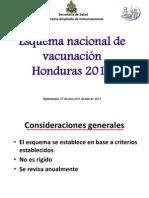 05 Esquema nacional de vacunación 2011