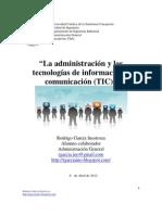 Factor tecnológico y su influencia en la administración
