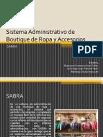 Sistema Administrativo de Boutique de Ropa y Accesorios