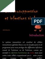 Immunosuppression Et Infection Virales