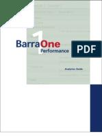Barraone Performance Analytics Guide
