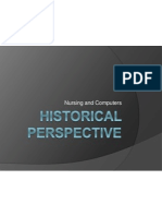 Historical Perspective Nursing Informatics