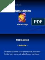 Raquialgias