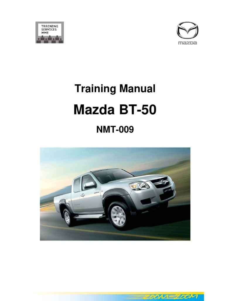 Mazda Wl Engine Service Manual