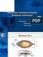 Neural Eye Tracking for Human Computer Interaction