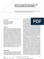 Analysis of Anka Pigments by Liquid Chromatography With