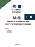 GOP - Caso Benihana - Grupo XIII